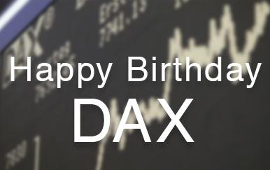 Der Dax feiert 30-jähriges Jubiläum! Wir laden Sie ein zum gratis Webinar