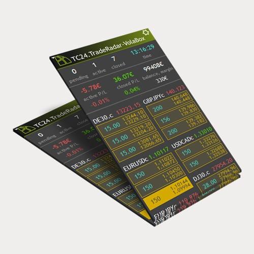 tradersclub24 volabox mockup 003 Trading lernen im größten Tradingclub Deutschlands. Praxisnah und transparent