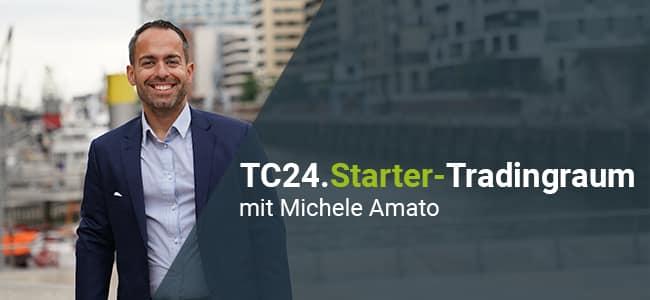 Online Trading mit Michele Amato vom TradersClub24