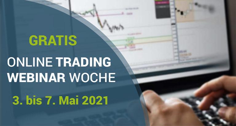 webinar grafik Trading lernen im größten Tradingclub Deutschlands. Praxisnah und transparent
