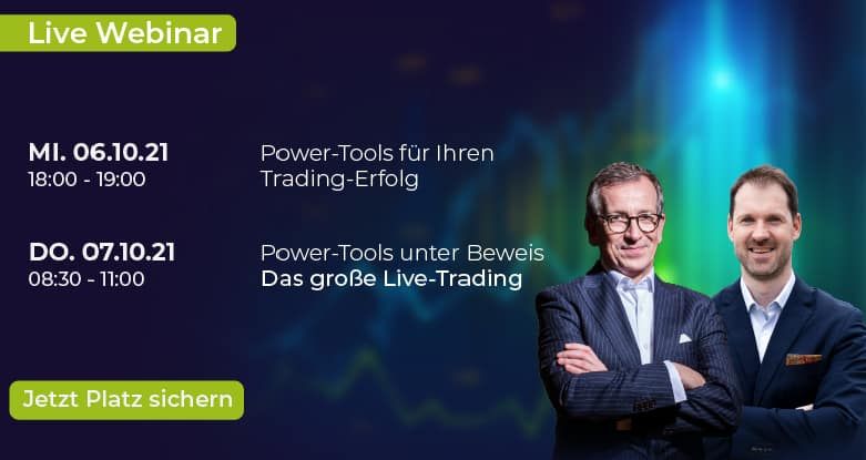 2021 09 21 banner webinar Trading lernen im größten Tradingclub Deutschlands. Praxisnah und transparent